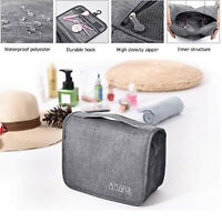 Large Toiletry Travel Bag Makeup Organizer Bag Hanging Shower Handbag Folding