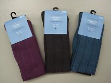 NWT Women's Simply Vera Vera Wang Knee Socks One Size Multi 6 Pair #640C