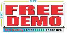 FREE DEMO Banner Sign NEW LARGER SIZE Best Quality for the $$$