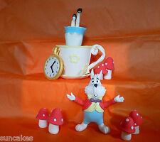 Alice In Wonderland Comestibles azúcar Pasta decoración de pastel con Cumpleaños