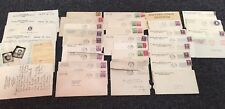 1930s & 1940s Medical Letters & WWII Correspondence Miss Ethel Brown Michigan