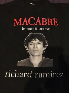 Macabre Murder Metal Richard Ramirez Shirt