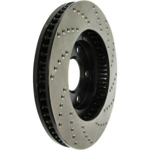 Disc Brake Rotor-Sedan Front Right Stoptech 128.62055R