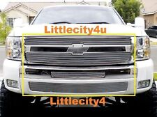For 2007-2013 Chevy Silverado 1500 Billet Grille Grill Combo Inserts