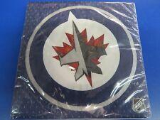 Winnipeg Jets NHL Pro Hockey Sports Banquet Party Blue Paper Luncheon Napkins