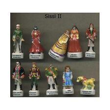Série complète de 10 fèves Sissi II