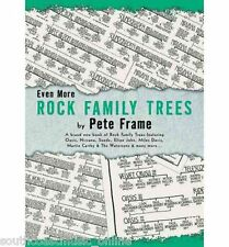 Even More Rock Family Trees Paper back Book By Pete Frame 9781844490073