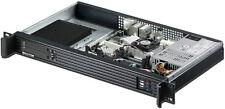 "1U ITX (2x SATA/SAS Hot-Swap 2.5"" HDDs Box)(Rackmount Chassis)(D:9.84"" Case) NEW"