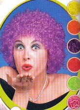 Perruque Clown frisée pop courte DEGUISEMENT couleur SUR DEMANDE PROMO