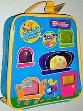 New 2010 Zhu Zhu Pets Hamster Hangout Collectors Case Holds 9