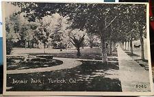 TURLOCK CALIFORNIA, Post Card 1905-15 DENAIR PARK, Stanislaus County