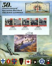 D-Day Landings Anniversary card, Guernsey label