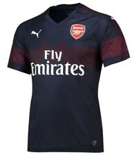 PUMA Arsenal FC 2017/18 Home Shirt Junior Football Replica Red 9-10 Years