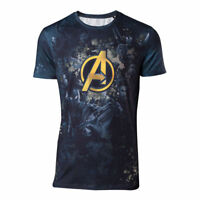 Official MARVEL COMICS  Avengers T SHIRT Infinity War Sublimation Print Gift