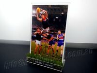 ✺Signed✺ JEREMY HOWE Photo & Frame PROOF COA Melbourne Demons AFL 2019 Guernsey