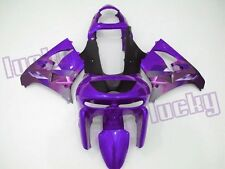 Aftermarket ABS Fairing Set for Ninja ZX9R 98 99 Kawasaki tank pad K44-G