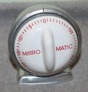 VINTAGE MIRRO MATIC 1 HOUR KITCHEN TIMER