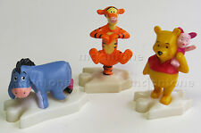LOOSE SET 3 McDonald's 2000 Disney Video Showcase WINNIE THE POOH Tigger Eeyore