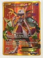 Mewtwo EX SECRET FULL ART GOLD ULTRA RARE 164/162 Pokemon XY Breakthrough NM