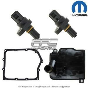62TE Transmission MOPAR INPUT & OUTPUT Speed Sensor SET Filter KIT 06-UP for 200