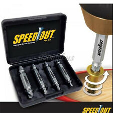 Set Speed Out Screw Extractor Drill Bits Tool Broken Damaged Bolt Remover 4PCS