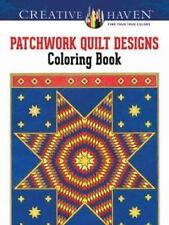 Adult Coloring: Creative Haven Patchwork Quilt Designs Coloring Book by Carol...