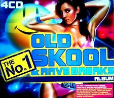 THE NO 1 OLDSKOOL & RAVE BREAKS - 4 X CDS 60 UNMIXED TRACKS ! HARDCORE CD CDJ DJ