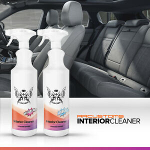 RRCustoms Interior Cleaner 1000ml 1L Car Seats Fabric Vinyl Upholstery Cleaner