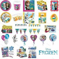 Disney Frozen Olaf Summer 20cm Paper Plates Childrens Party Tableware 8pack
