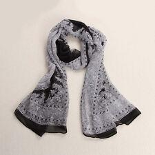 Women Fashion Lady Long Soft Chiffon Scarf Wrap Shawl Stole Scarves