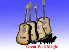 Free Shipping Appearing 4 Guitar From The Box   / stage magic