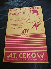 Partizione Del vaso di Colla Java Un Jeune € tacco Jeans Clau presso Cekow 1953