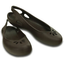 Crocs Women's Taylor Slingback Brown Shoes - Assorted Sizes