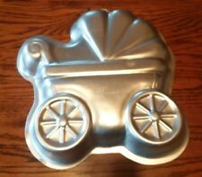 Wilton BABY BUGGY Cake Pan Mold- Party Baby Shower Stroller Carriage