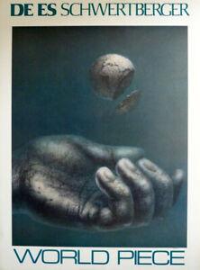 WORLD PIECE fine art poster by De Es Schwertberger