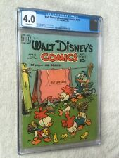 Walt Disney Comics & Stories #115 cgc 4.0 white pages & FREE reader copy