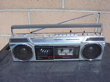 Sanyo M7760 Stereo Radio Cassette Recorder Vintage Boombox Made In Japan NICE