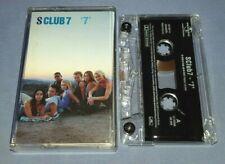 S CLUB 7 '7' cassette tape album T8245