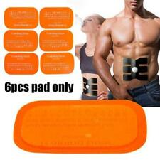 Best 6PCS Replacement Gel Sheet Pad for Muscle Training Gear ABS Body Fitness AE