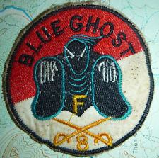 BLUE GHOSTS - Patch - US 8th Air Cavalry - Vietnam War - 23rd AMERICAL - 2464
