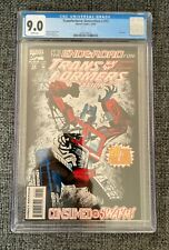 Transformers Generation 2 #12 CGC 9.0 WP - Rare Final Issue, Never Read, NM