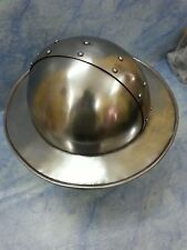 Medieval Kettle Hat Armour Helmet Spanish Antique Replica Steel Helmet