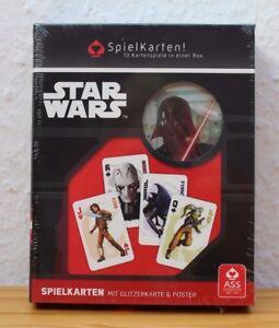 Star Wars Rebels (Spielkarten) Neu.Mit Glitzerkarte & Poster Star Wars.