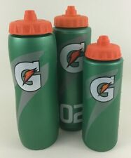 Gatorade Squeeze Bottles Lot of 3 Green Orange Sports Outdoors Hydrate