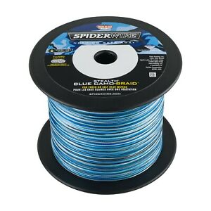 SPIDERWIRE STEALTH Braid 1500 Yards-Blue Camo-Pick Line Class Free FAST Shipping