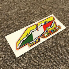 Rossi Number NO.46 The Doctor Italy Racing Sports 3M Reflective Vinyl Sticker