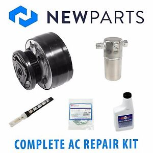 For Chevrolet K2500 Cheyenne Complete A/C Repair Kit w/ NEW COMPRESSOR & CLUTCH