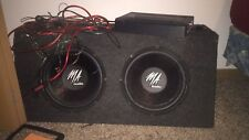 12 inch MA audio subwoofers with professional box