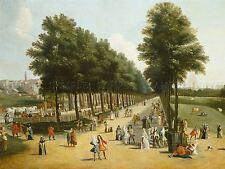 Marco RICCI vista Mall SAINT James Park Vecchia Pittura Arte Poster Stampa bb4973a
