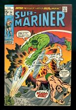 SUB-MARINER #34 Marvel 1971 FN Prelude to 1st Defenders